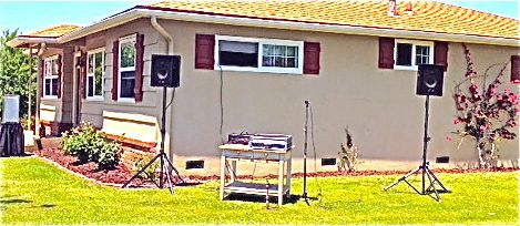 Delicieux Basic Audio System Rental. Backyard ...